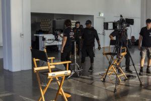 BBP camera crew on set