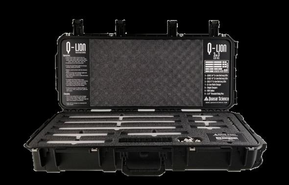 Q-LION 3x3 LITHIUM Battery LED Light Kit-Transparent