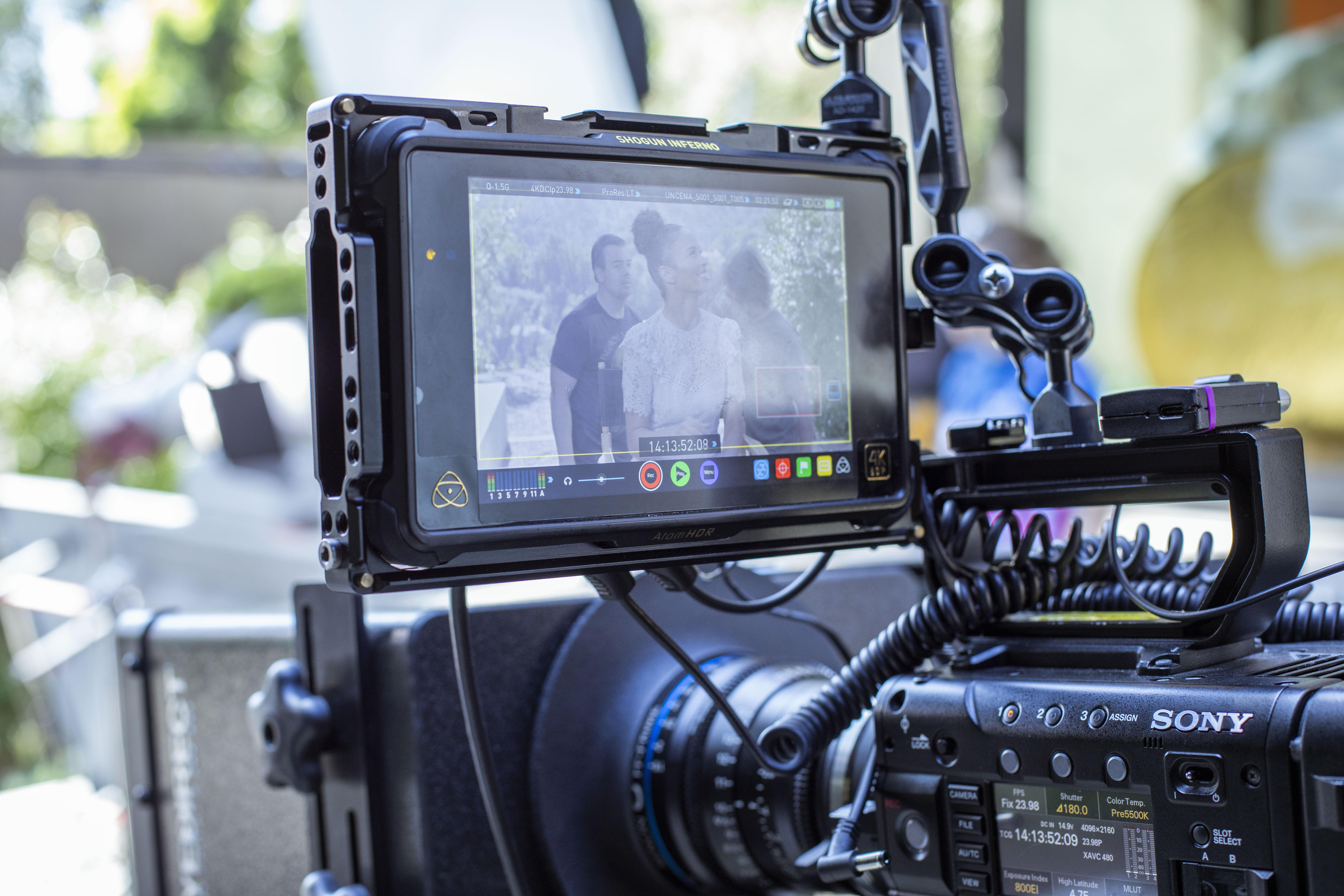 Videographer Prepping Camera Gear 348