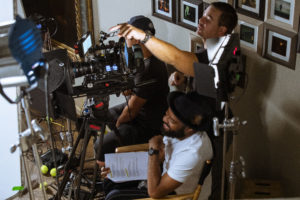 camera crew - The martini shot