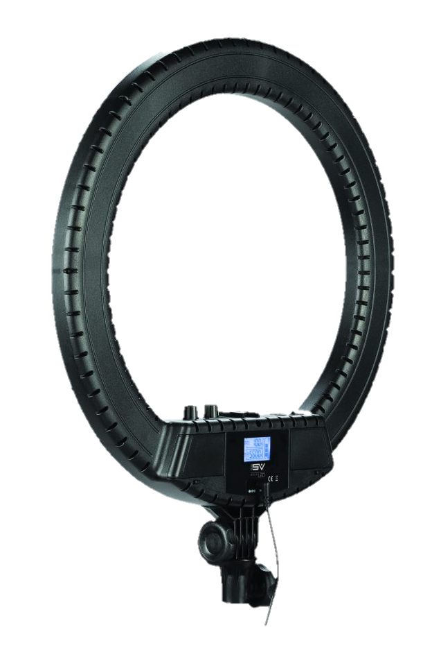 Smith-Victor LED ring light - Transparent