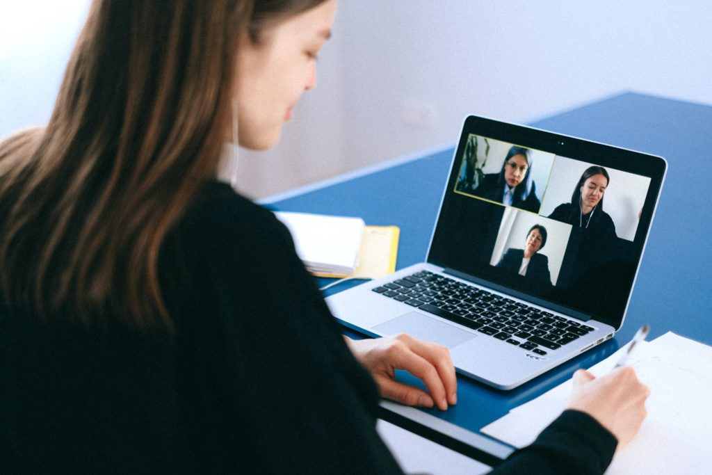 Virtual face-to-face meetings