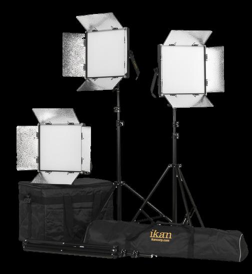 iKan Lyra 1x1 LED Light Kit-Transparent