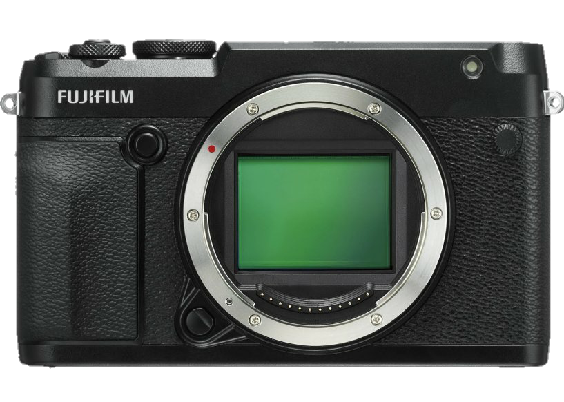 Fujifilm GFX 50R Mirrorless Camera-Transparent fitted