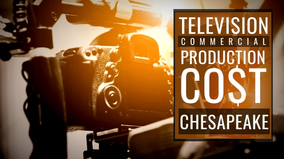 How much does it cost to produce a commercial in Chesapeake?
