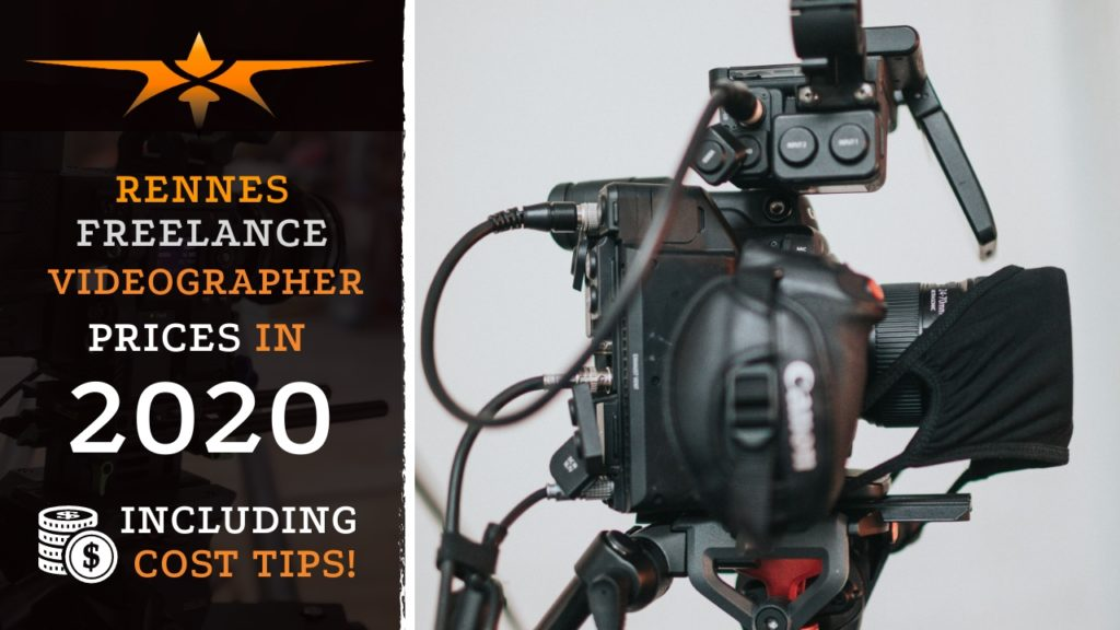 Rennes Freelance Videographer Prices in 2020