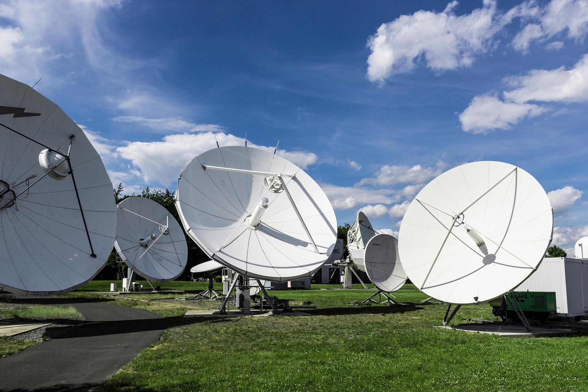 TV Commercial satellite