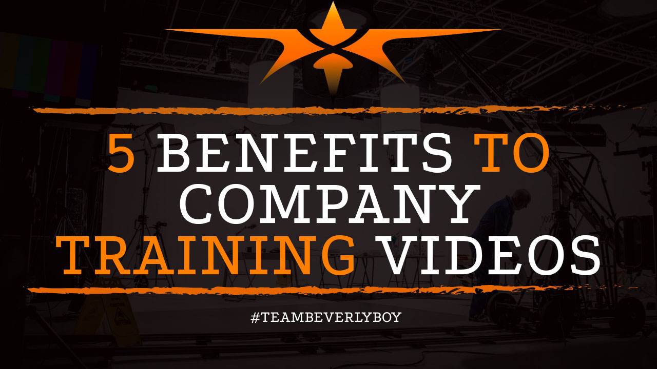 5 Benefits to Company Training Videos