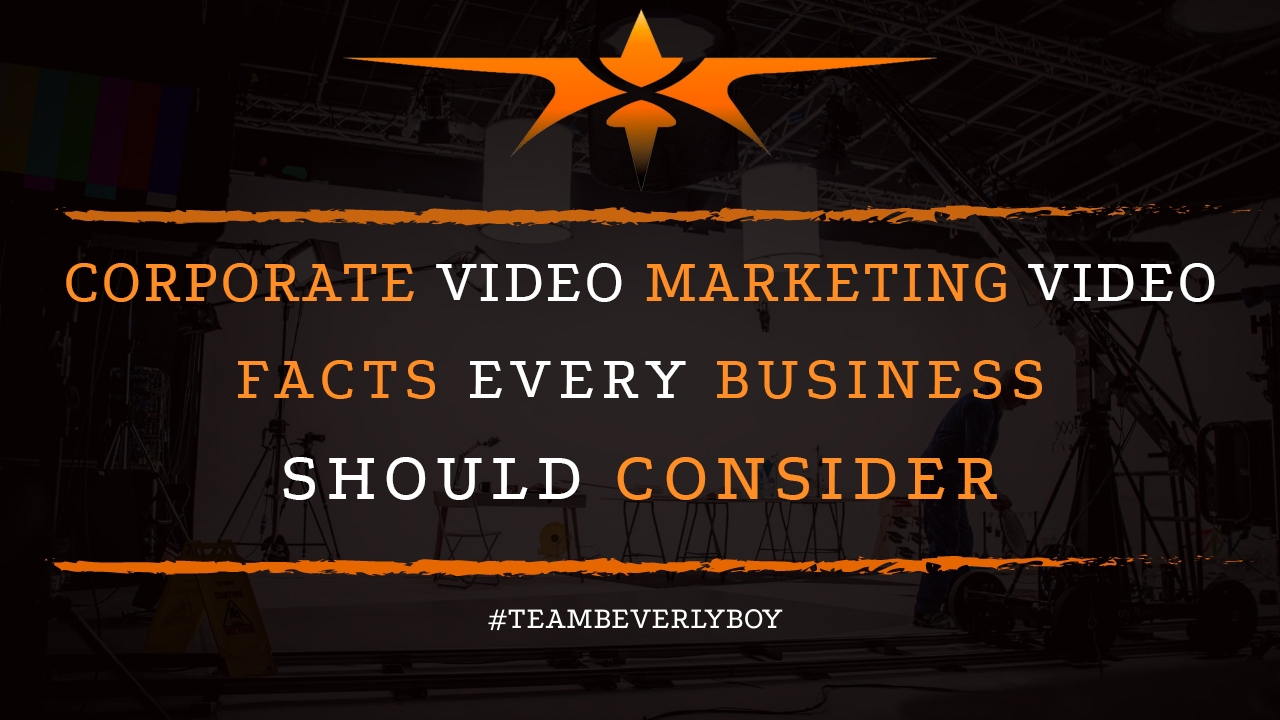 Corporate Video Marketing Facts Every Business Should Consider