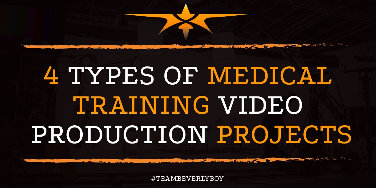 4 Types of Medical Training Video Production Projects