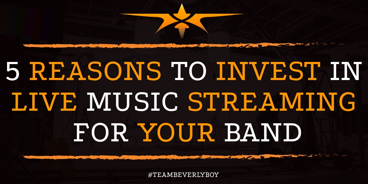 5 Reasons to Invest in Live Music Streaming for Your Band