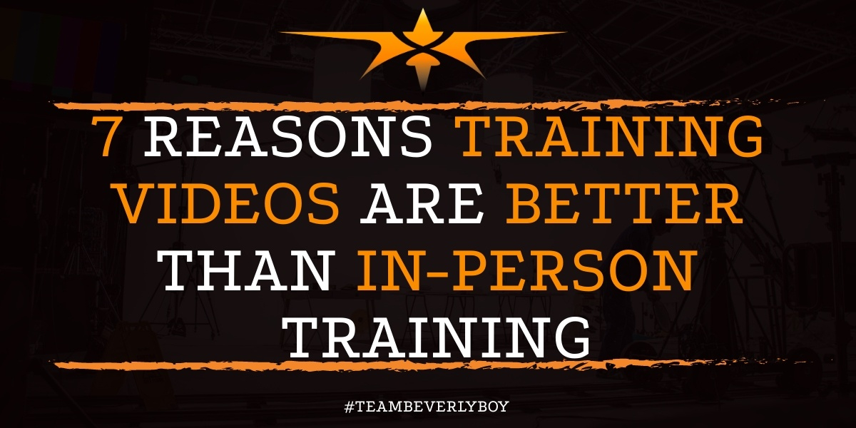 7 Reasons Training Videos are Better than In-Person Training