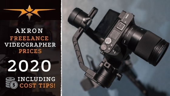 Akron Freelance Videographer Prices in 2020