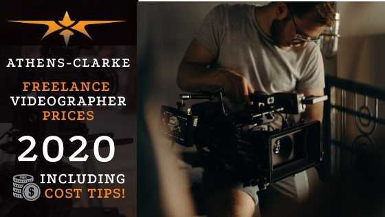 Athens-Clarke County Freelance Videographer Prices in 2020
