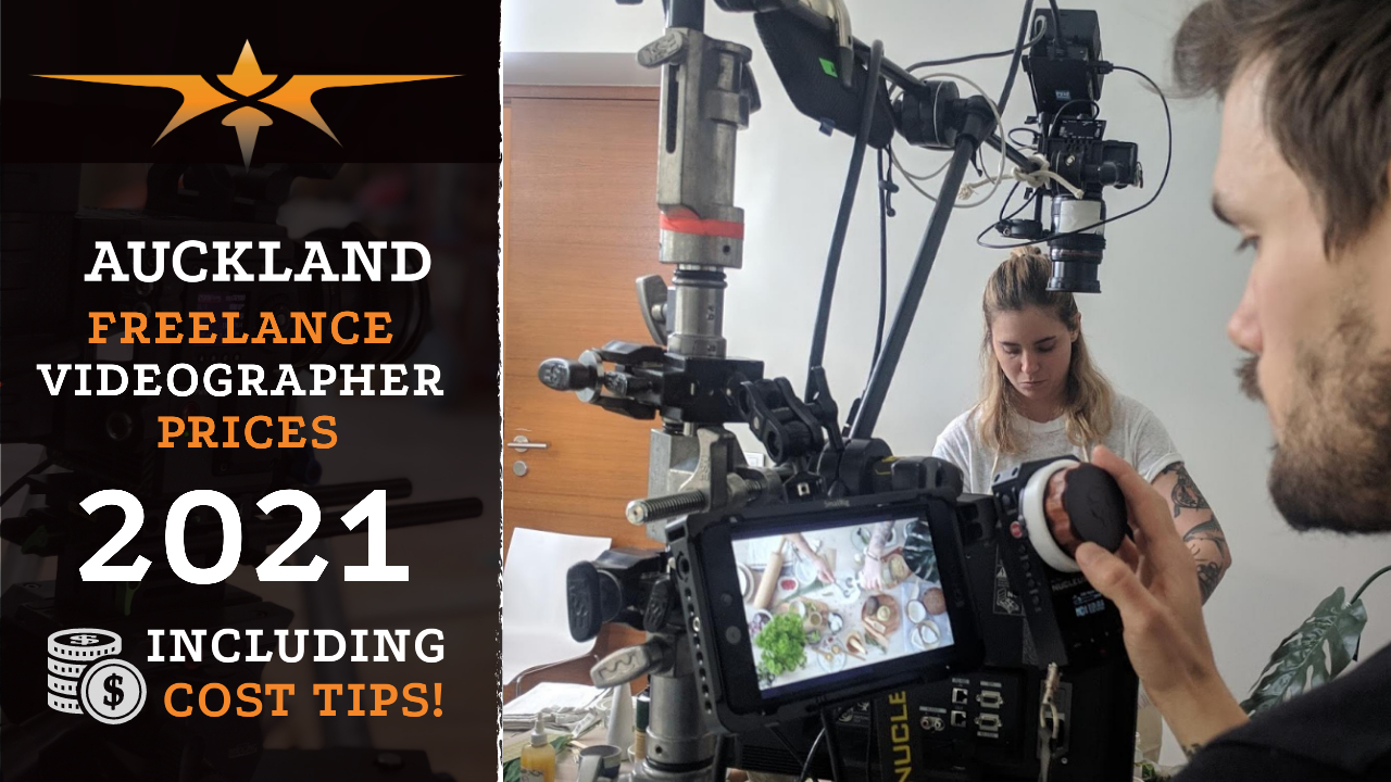 Auckland Freelance Videographer prices in 2021