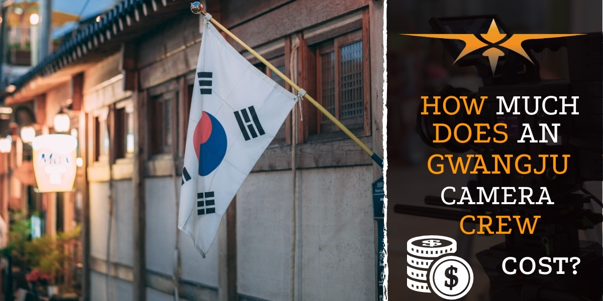 How much does an Gwangju camera crew cost-
