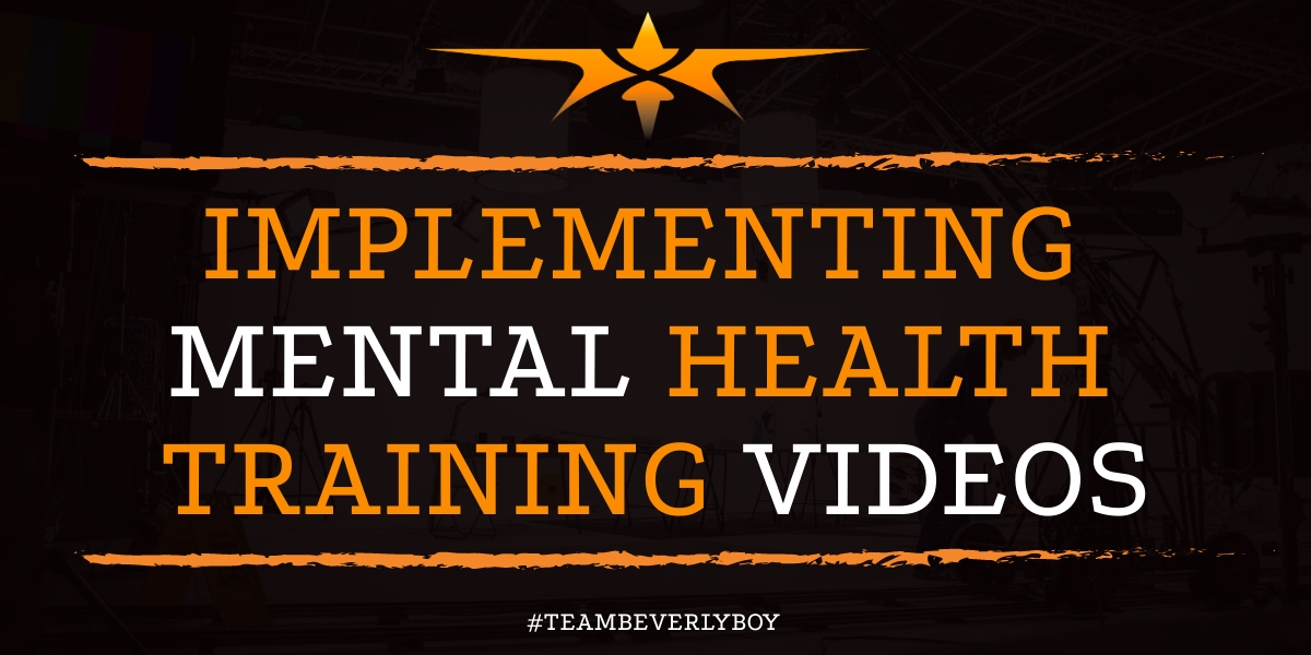 Implementing Mental Health Training Video