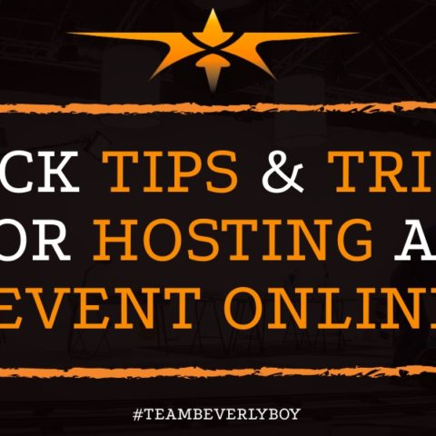 Quick Tips & Tricks for Hosting an Event Online