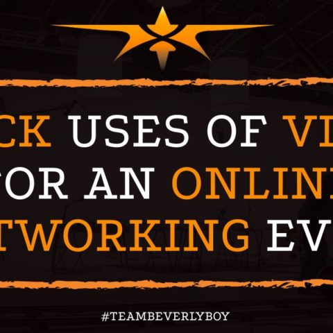 Quick Uses of Video for an Online Networking Event