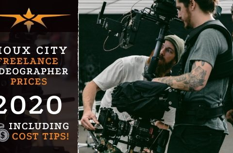 Sioux City Freelance Videographer Prices in 2020
