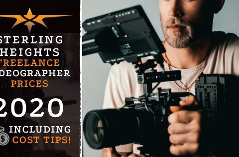 Sterling Heights Freelance Videographer Prices in 2020