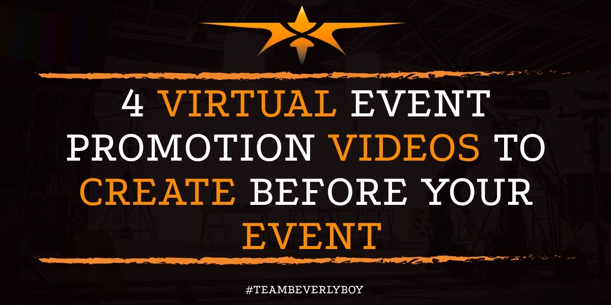 4 Virtual Event Promotion Videos to Create Before Your Event