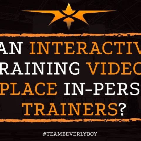 Can Interactive Training Videos Replace in-Person Trainers-