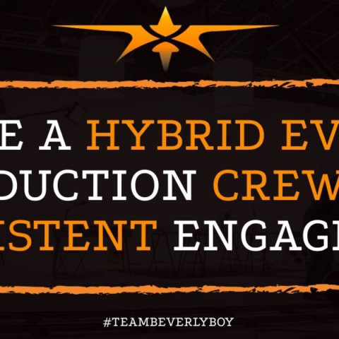 Hire a Hybrid Event Production Crew for Consistent Engagement