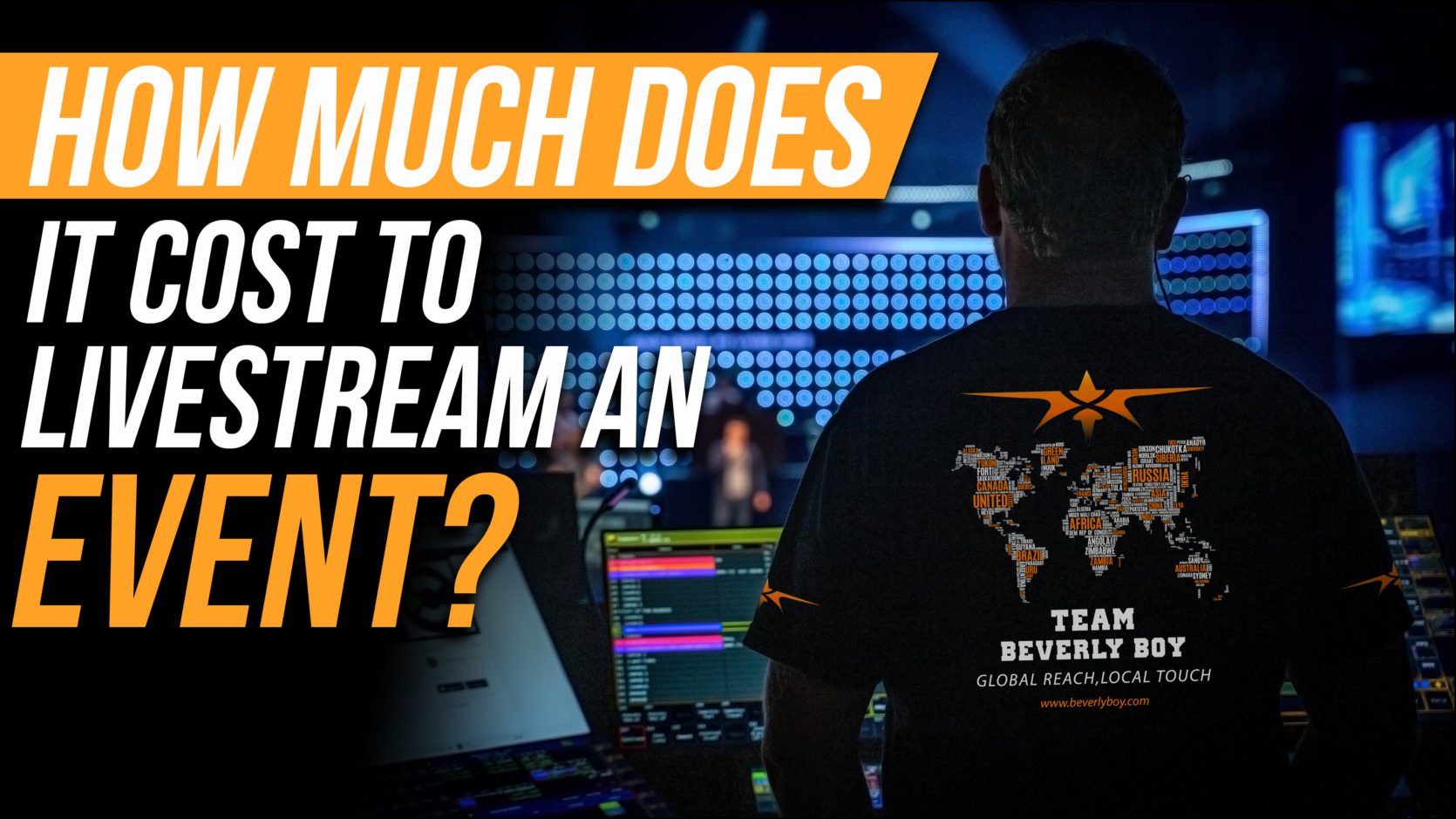 How Much Does it Cost to Live Stream an Event