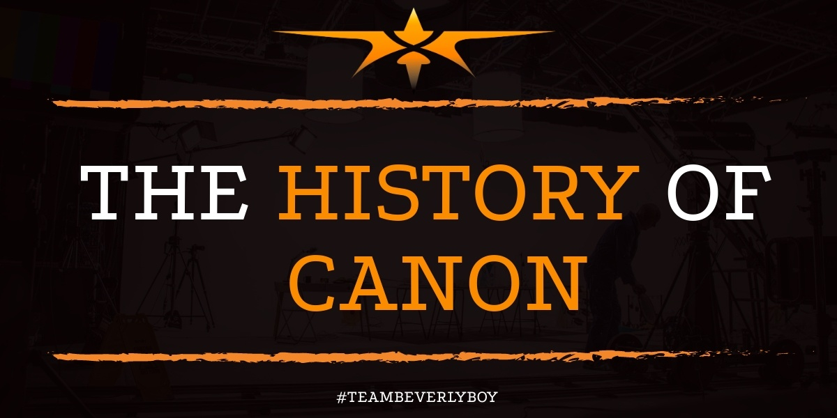 The History of Canon