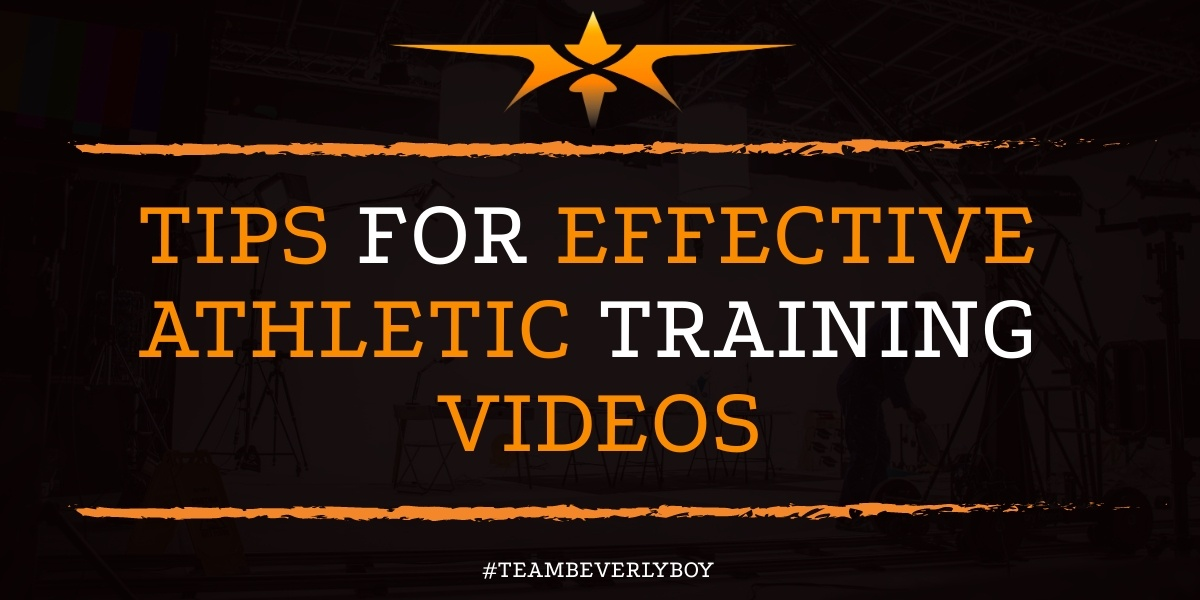 Quick Tips for Effective Athletic Training Videos