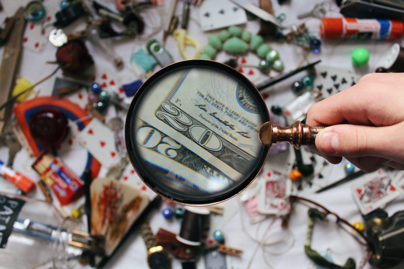 magnifying glass Hidden fees