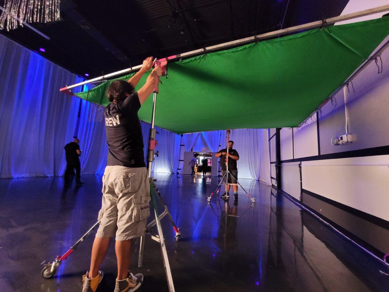 Team Beverly Boy green screen