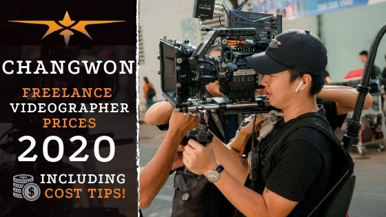 Changwon Freelance Videographer Prices in 2020