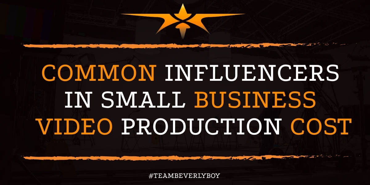 Common Influencers in Small Business Video Production Cost