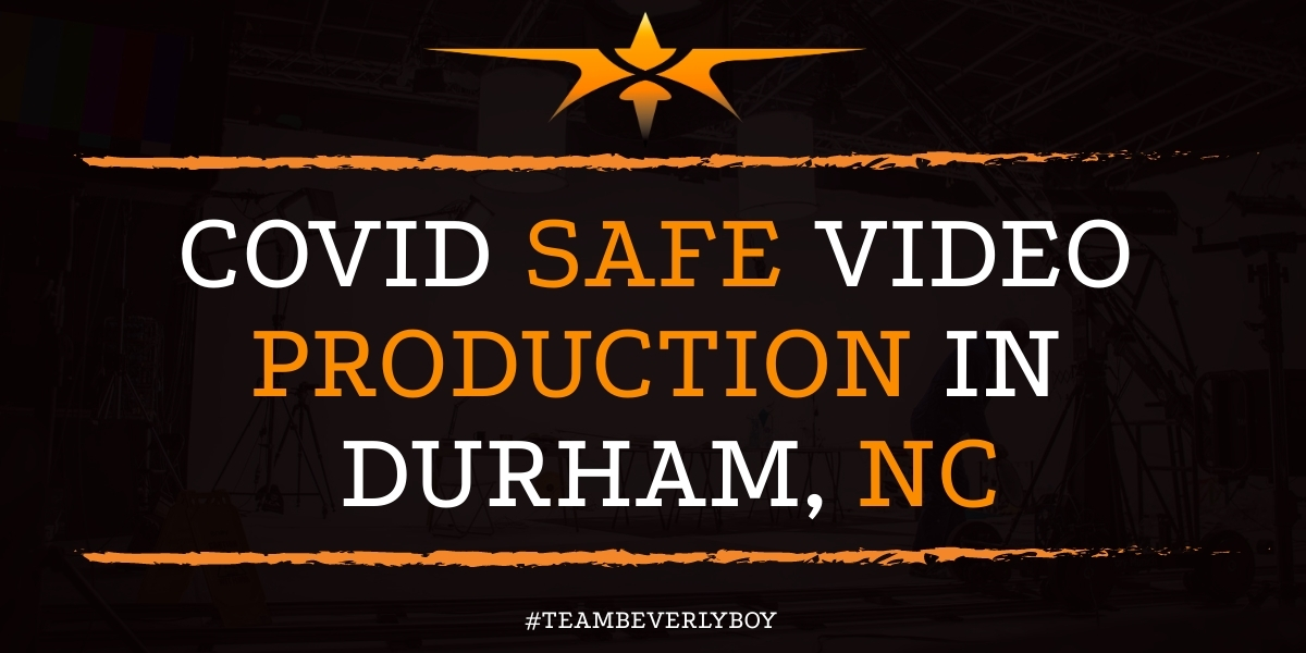 Covid Safe Video Production in Durham, NC