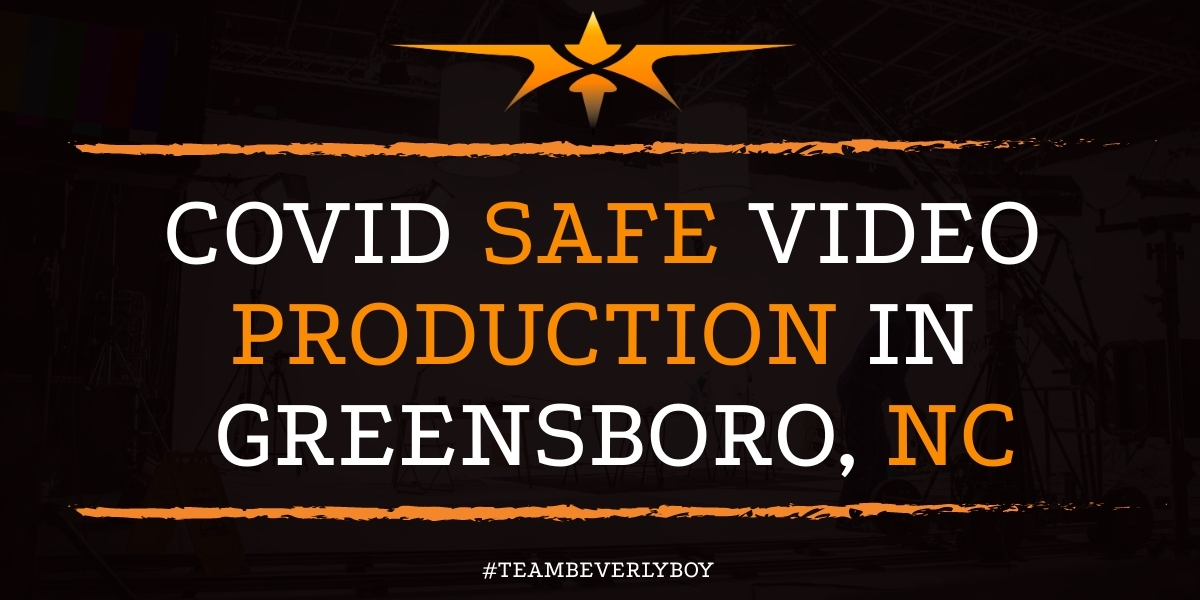 Covid Safe Video Production in Greensboro, NC