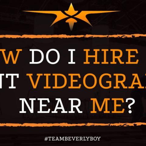 How Do I Hire an Event Videographer Near Me?