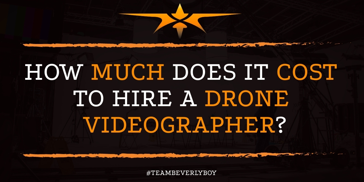 How Much Does it Cost to Hire a Drone Videographer? Drone services are relatively varied in terms of pricing and can have production rates that are as widely different as the rates for any other style of production task. If you're considering the premise of hiring a drone videographer, it's a good idea to get a firm understanding of what it will cost, but how much does it cost to hire a drone videographer? Let's take a look at various skillsets, qualifications, and questions that you should ask prior to hiring a drone videographer. Drone Videographer Costs Hiring a professional drone videographer is important for many reasons. Costs are one of the leading factors that steer clients to, or away, from the prospect of hiring a drone videographer. Here's a look at the anticipated costs that you will incur with drone video production: ● Hourly rate for the drone videographer - $200 to $5,000 her hour ● Half day shoot - $400 to $1,000. ● Full day shoot - $800 to $1500 Drone Video Considerations Now that you have a baseline idea of how much drone videos cost to produce, it's important to also consider some of the potential costs involved with drone videos tha you may not immediately think about. Consider these potential drone video hidden costs: ● Copyrights to music or background elements. ● Flight changes. ● Use of or Ownership of software to produce the video. ● Flight management rates ● Weather Interruptions ● Prolonged filming over the standard battery rate A drone videographer will help you to produce videos that showcase your real estate in a whole new and productive way. Need more information on producing drone video footage and the costs involved with this style of video production>? Give Beverly Boy Productions a Call