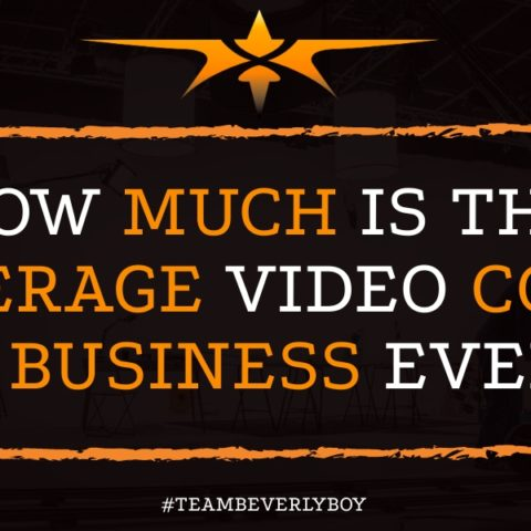 How Much is the Average Video Cost for Business Events