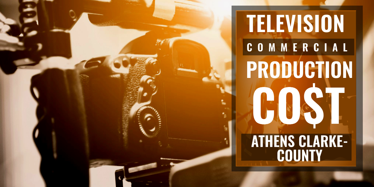 How much does it cost to produce a commercial inAthens Clarke-County-