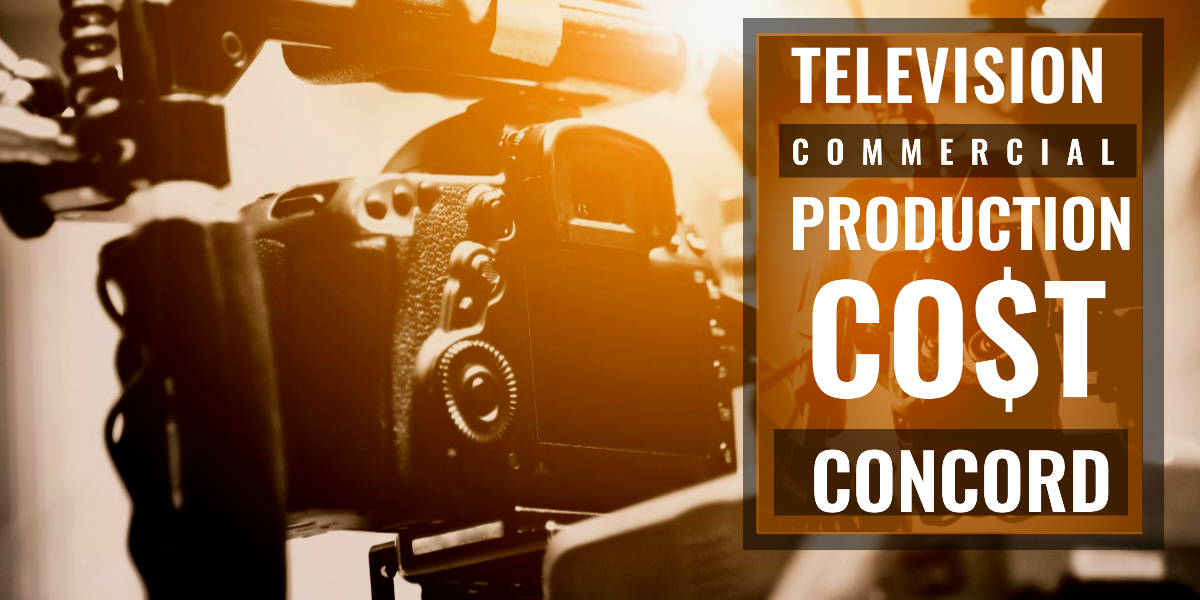 How much does it cost to produce a commercial in Concord-