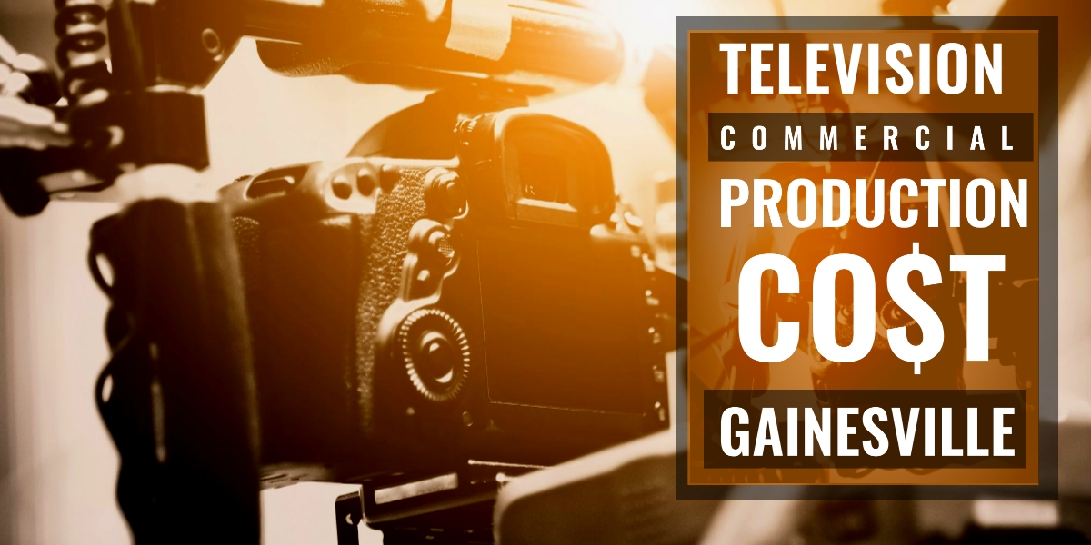 How much does it cost to produce a commercial in Gainesville