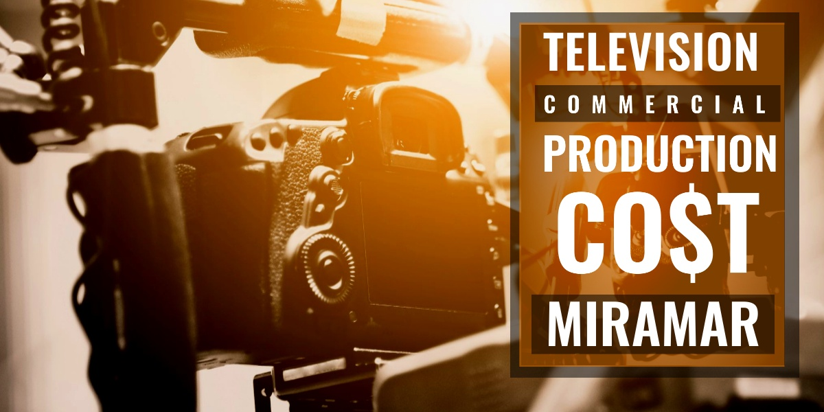 How much does it cost to produce a commercial in Miramar