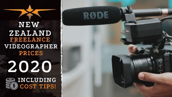 New Zealand Freelance Videographer Prices in 2020