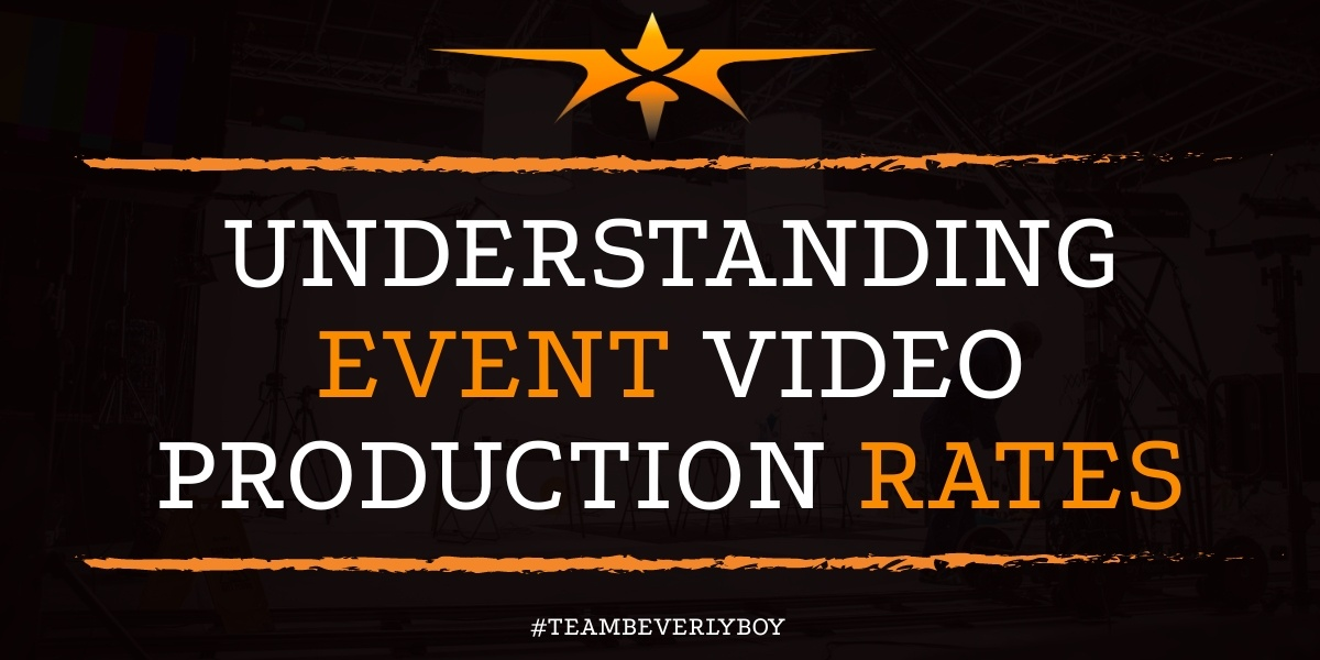 Understanding Event Video Production Rates