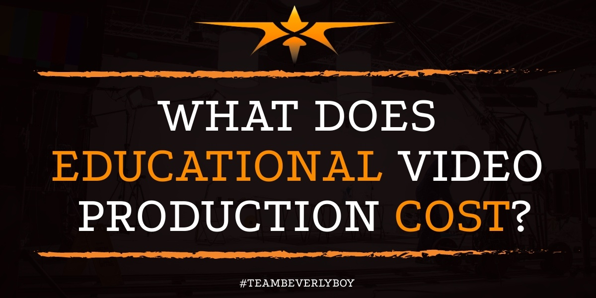 What Does Educational Video Production Cost
