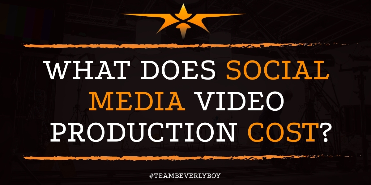 What Does Social Media Video Production Cost