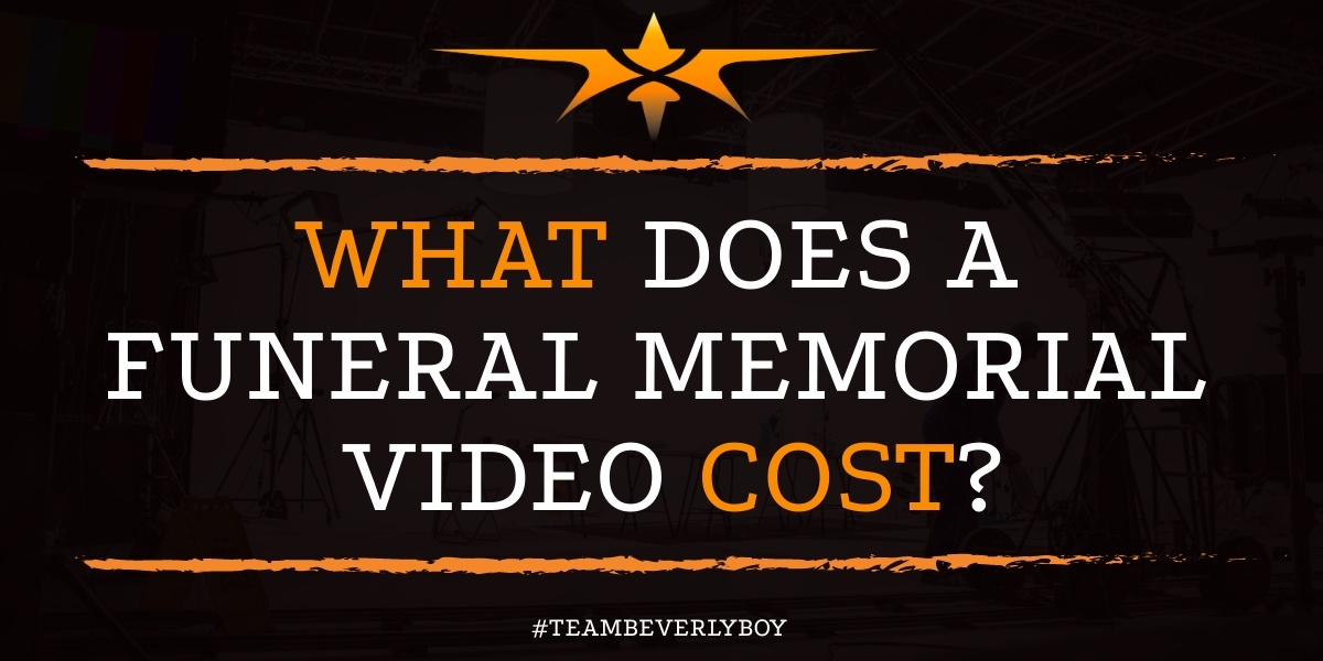 What Does a Funeral Memorial Video Cost