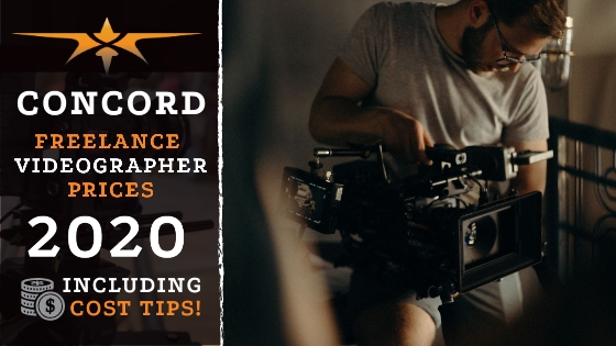 Concord Freelance Videographer Prices in 2020